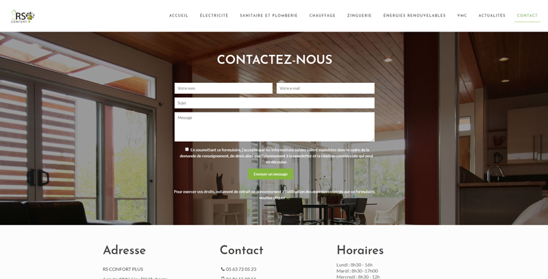 Image de RS Confort + : Contact